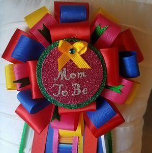 Other - Fiesta mommy to be baby shower corsage